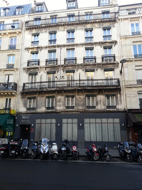 Hotel Paris-Liege