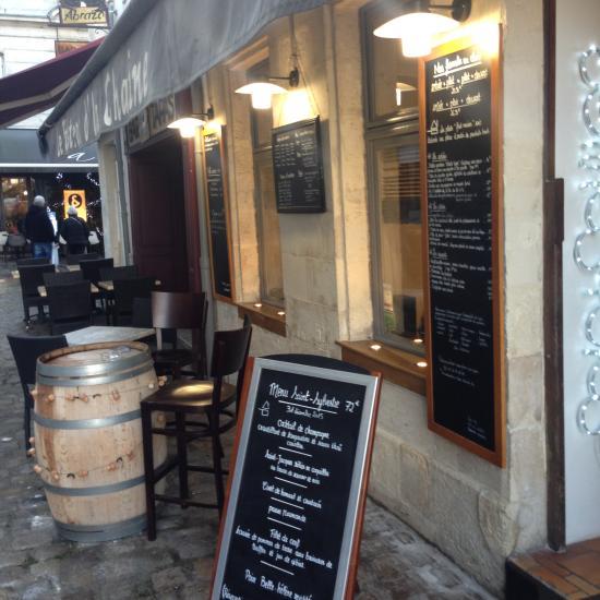 Le bistrot d 39 la chaine la rochelle restaurant avis for Chaine hotel restaurant