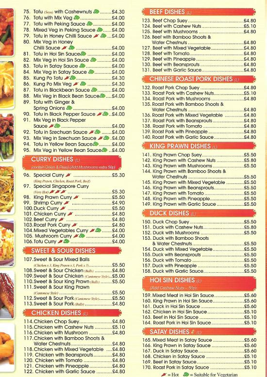 Sun Sun Chinese Takeaway Cardiff Restaurant Reviews