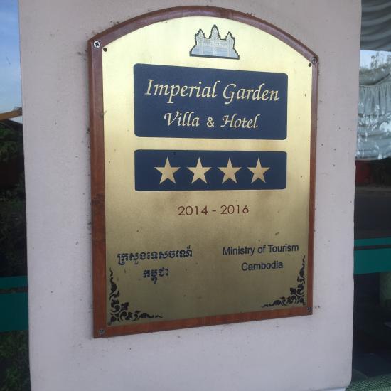 Imperial Garden Villa Hotel Phnom Penh Cambodja