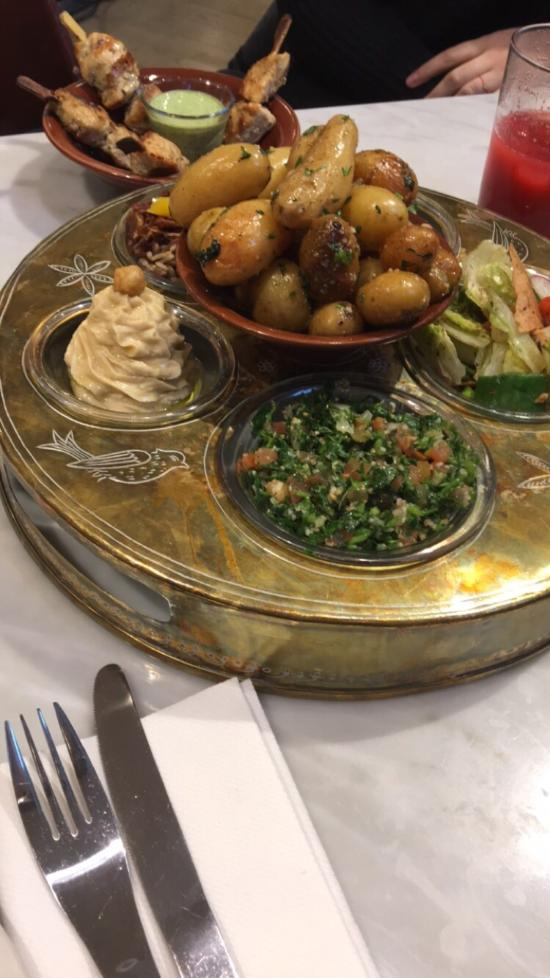 Restaurant Libanais Paris Opera