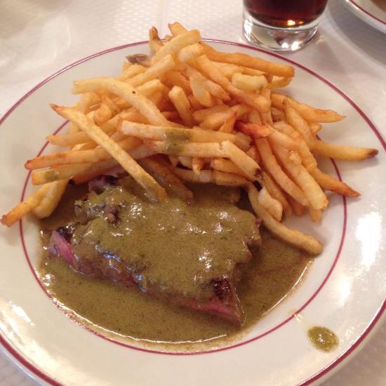 Restaurant l 39 entrec te dans paris avec cuisine fran aise for Restaurant cuisine francaise paris