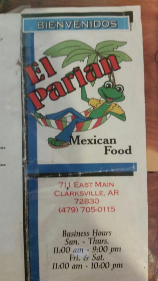 El Parian Clarksville Restaurant Reviews Phone