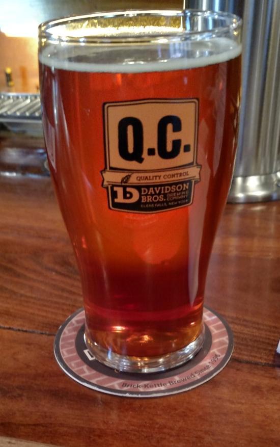 "This is my ""Quality Control"" Dacker beer. QC is like a mug club ;)"