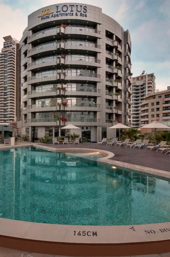 迪拜碼頭蓮花飯店公寓及水療中心