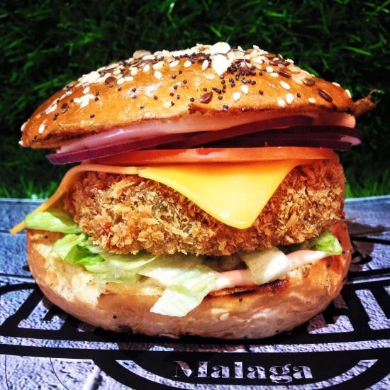 Restaurante la calle burger m laga en m laga con cocina - Hamburgueseria marbella ...