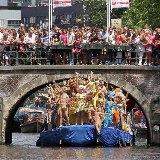 gay pride amsterdam schedule