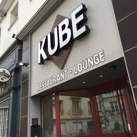 le kube restaurant brest restaurant avis num ro de t l phone photos tripadvisor. Black Bedroom Furniture Sets. Home Design Ideas