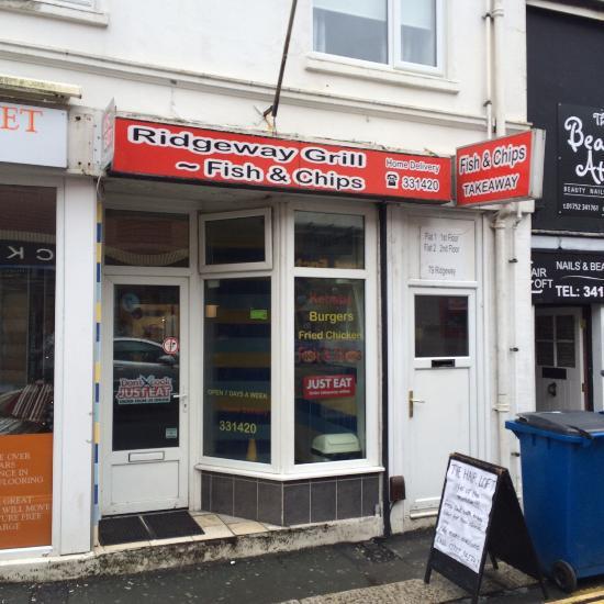 Ridgeway Grill Fish And Chips Plympton Restaurant