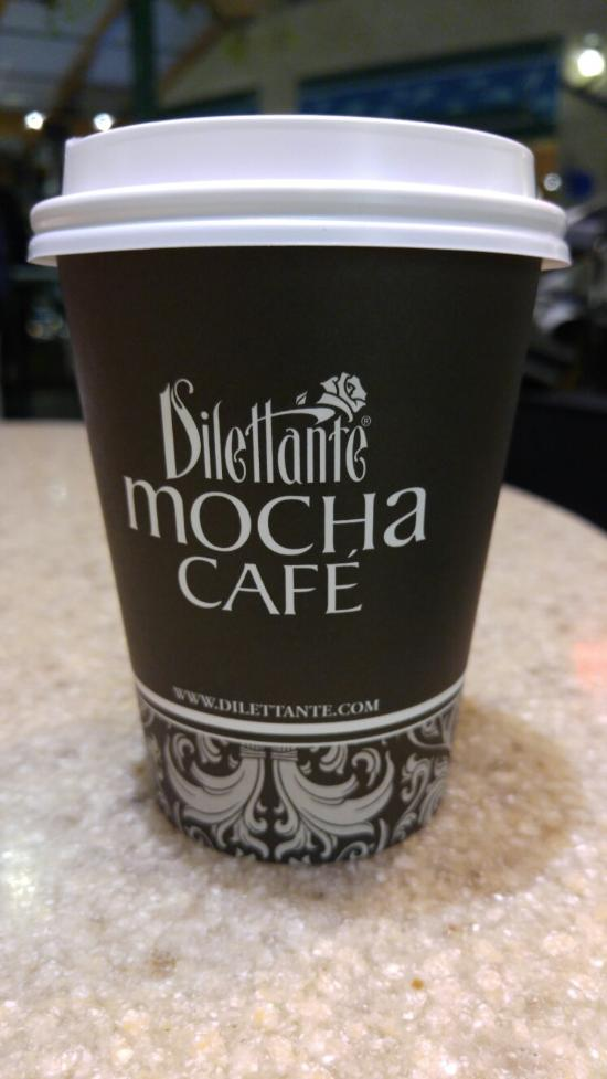 Dilettante Mocha Cafe Seattle Sea Tac Airport
