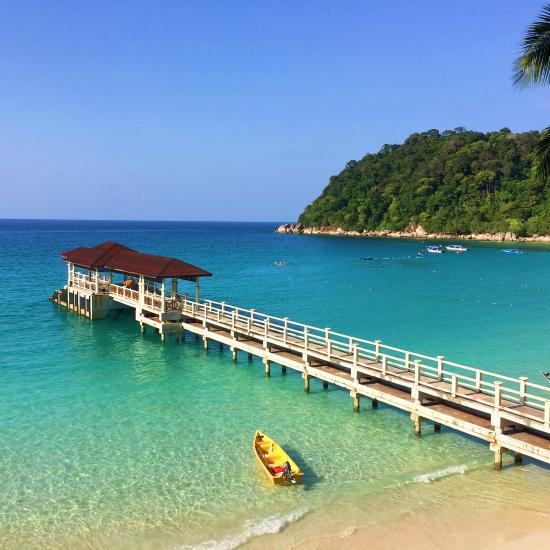 Island Resort: Perhentian Island Resort (Pulau Perhentian Besar, Malaysia