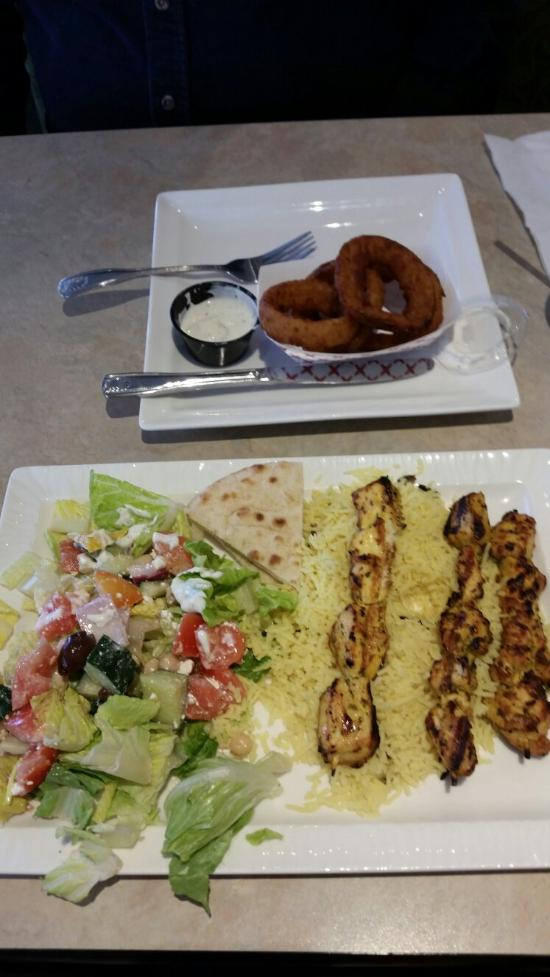 Zorbau0027s Cafe u0026 Grill Fremont Menu