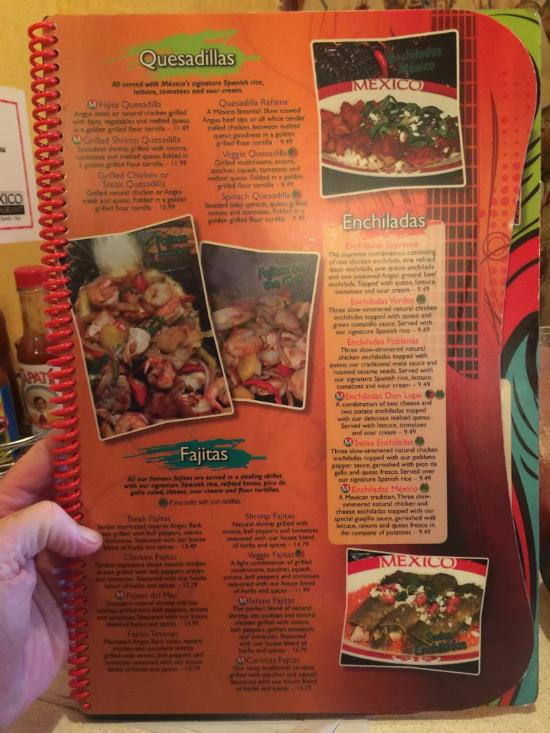 Mexico Restaurant Menu Sandston