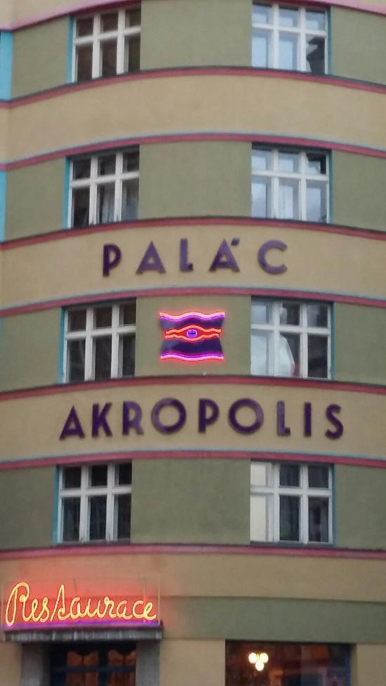 Palac Akropolis Restaurace Prague Praha 3