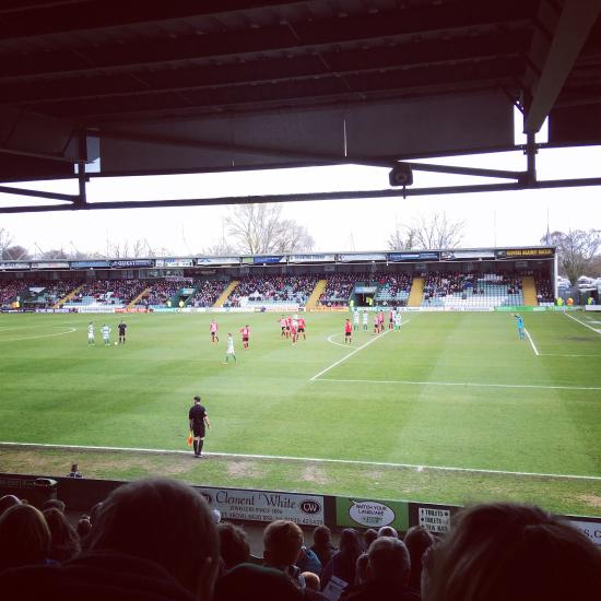 Huish park stadium yeovil england top tips before you - Hotels in yeovil with swimming pool ...