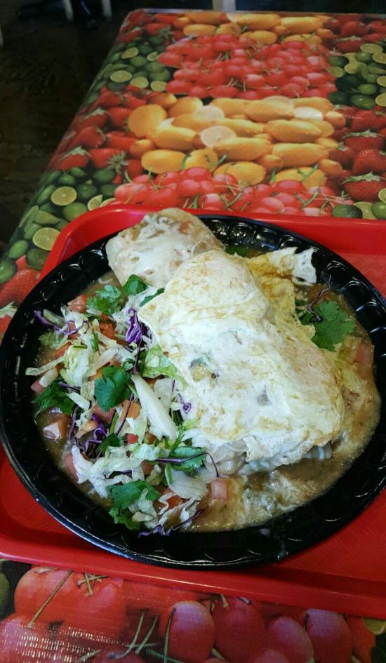 The Original Burrito Company, Phoenix - Ahwatukee Foothills - Menu on