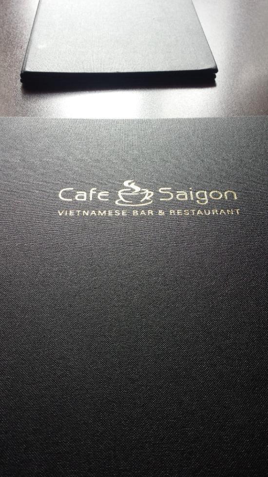 Cafe Saigon Albert Park Menu
