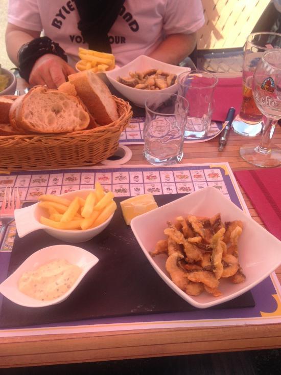 Restaurant La Marine A Port Sur Saone