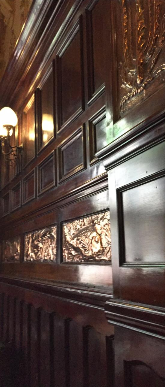 Copper relief plaques