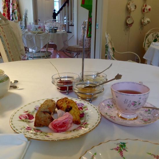 Jacqueline S Tea Room  Main St Freeport Me