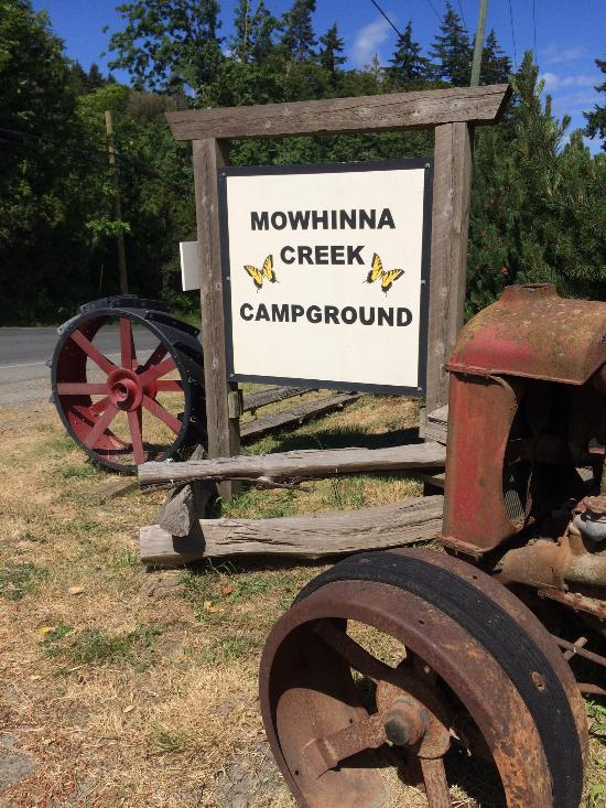 Mowhinna Creek Campground