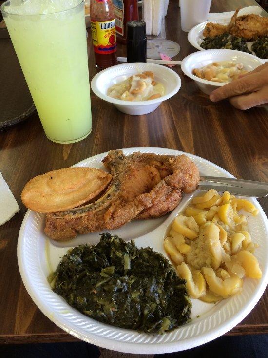Pork chops on Tuesdays.