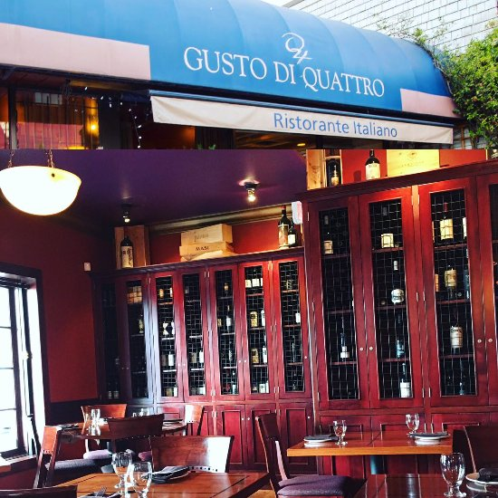 Gusto di quattro north vancouver menu prices