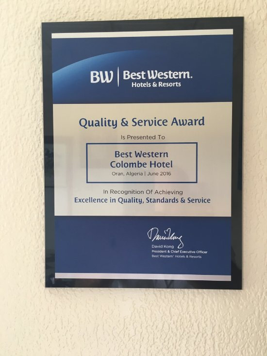 BEST WESTERN Hotel Colombe