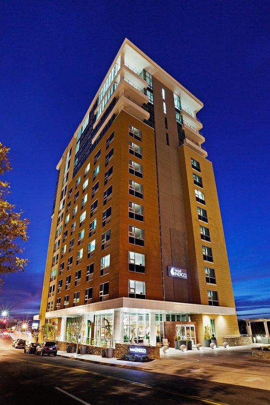 阿什維爾市中心靛藍酒店