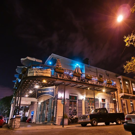 The Avenue Pub New Orleans Garden District Menu Prices Restaurant Reviews Tripadvisor