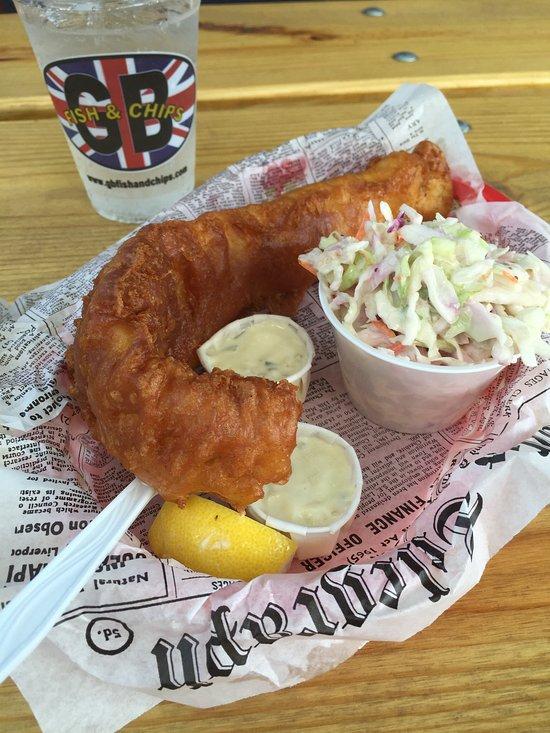 Gb Fish And Chips Denver Washington Pk Menu Prices