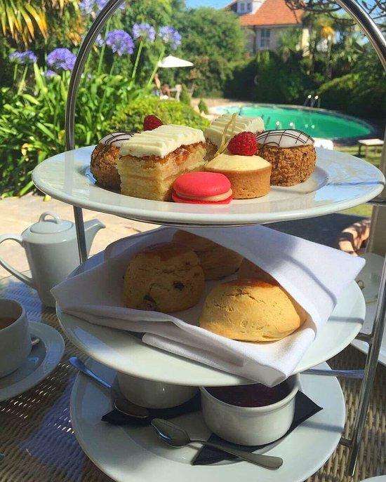 Royal Hotel Ventnor Afternoon Tea