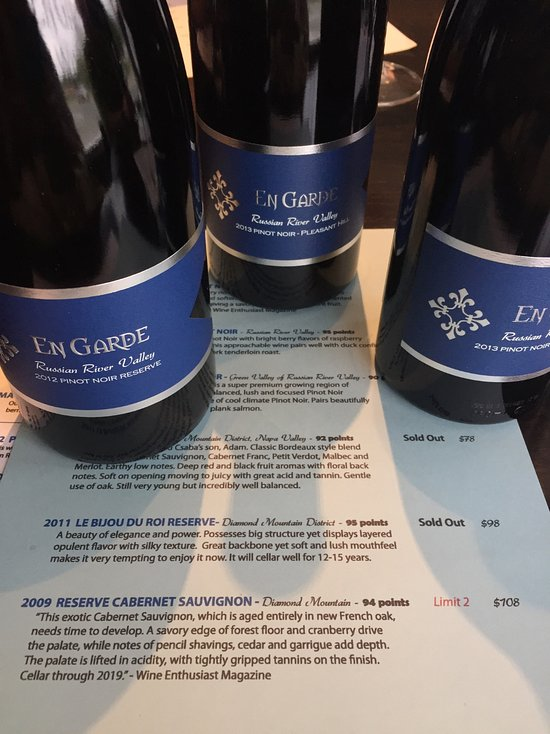 Things To Do in Landmark Vineyards, Restaurants in Landmark Vineyards