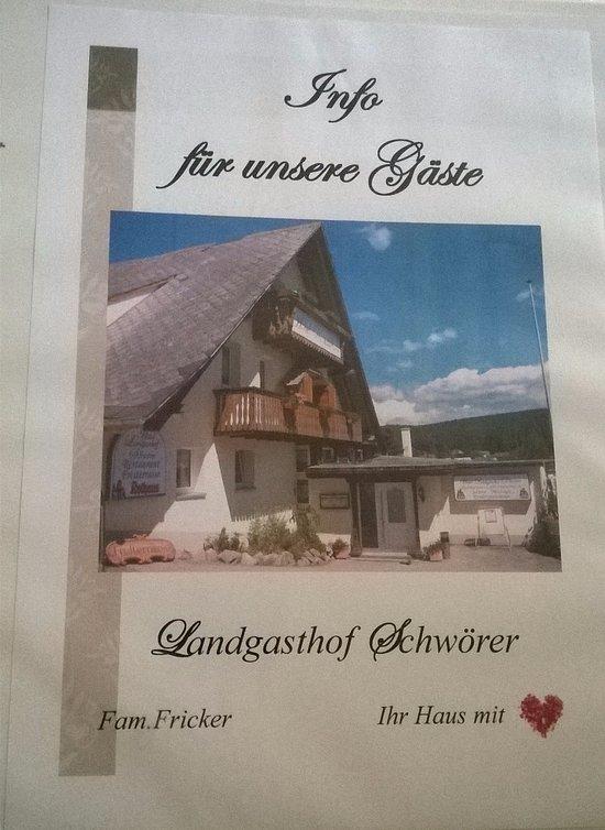 Hotel Landgasthof Schwoerer