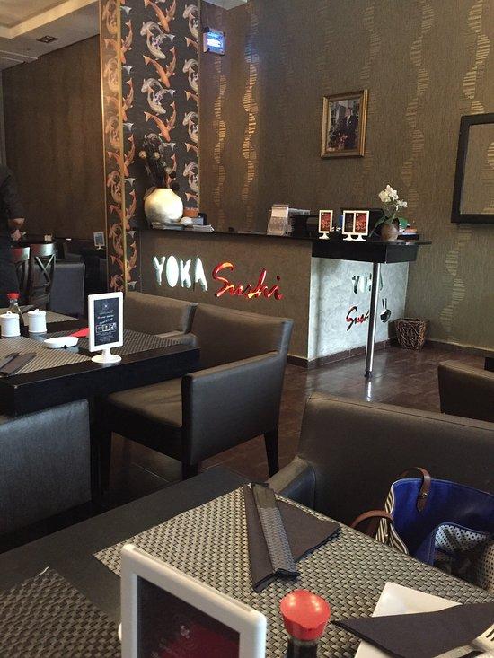 Yoka sushi hay riad rabat restaurant avis num ro de for Mobilia hay riad rabat