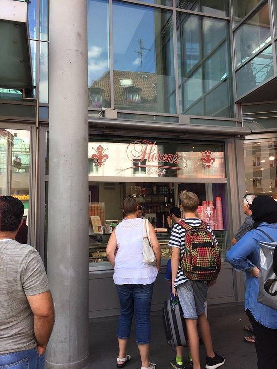 Eiscafe Florenz, Mainz - Roemerpassage 1 - Restaurant Bewertungen ...