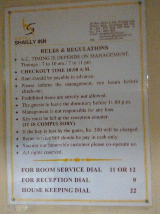Shailly Inn Hotel