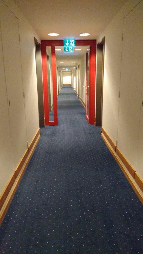Corredor do ultimo andar