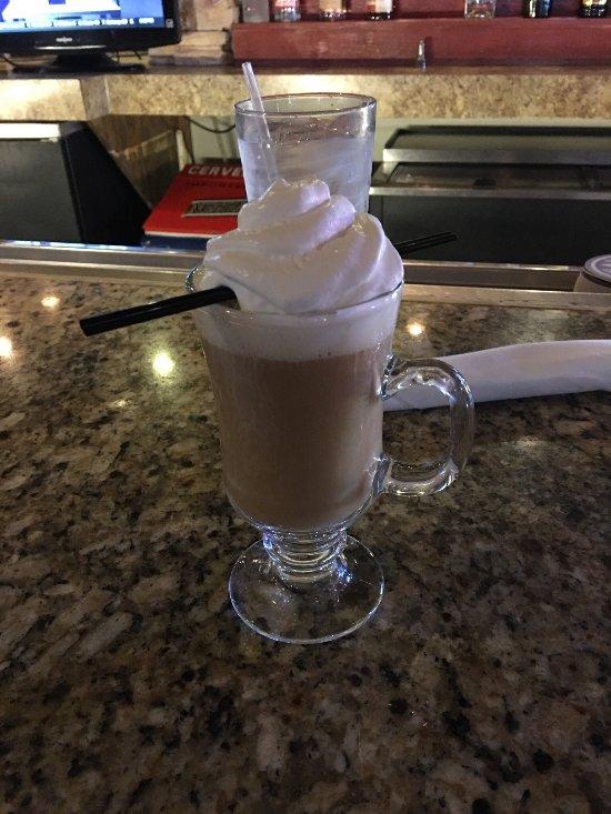 Irish coffee. One of the best.