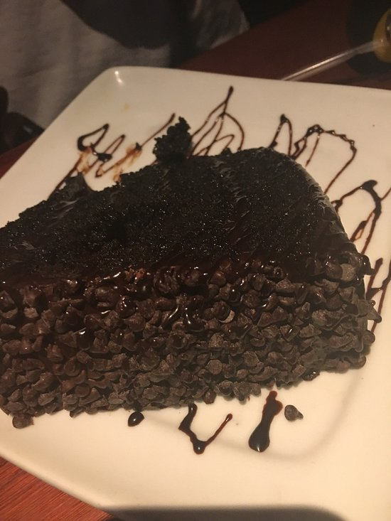 Red Lobster 7 Layer Chocolate Cake