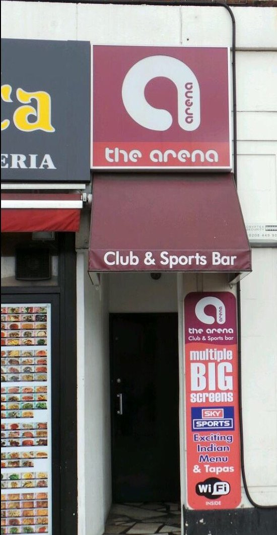 The Arena Club And Sports Bar London Photos Restaurant