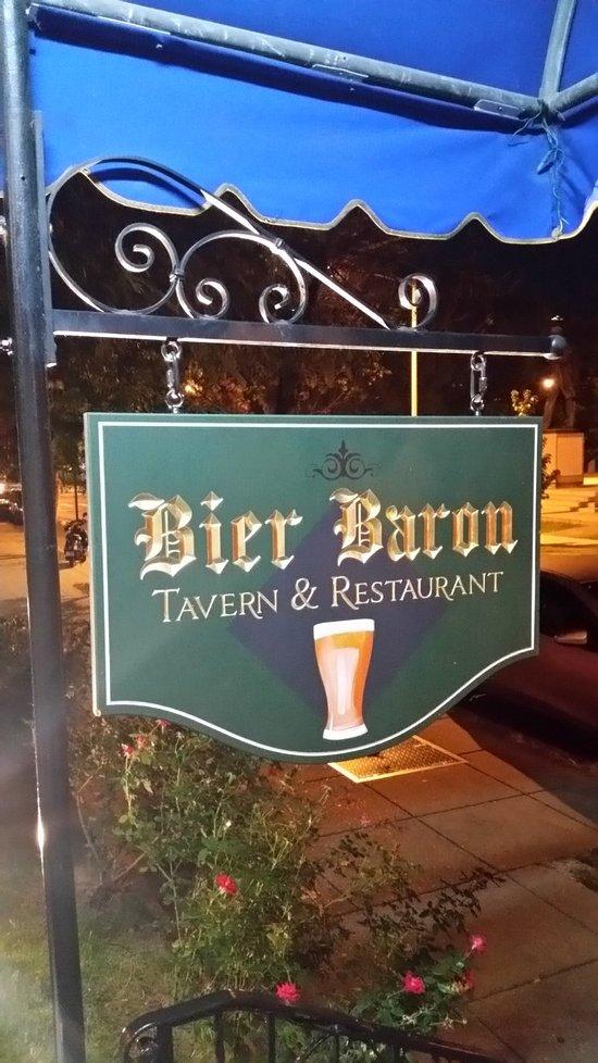 Bier Baron Tavern Washington DC Restaurant