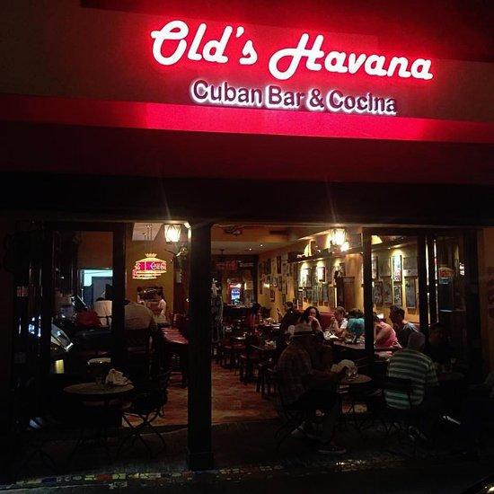 Old S Havana Cuban Bar Cocina Miami Menu Prices