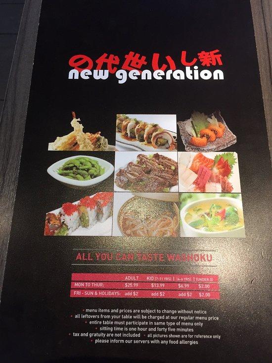 new generation sushi and teppanyaki vaughan restaurant reviews phone number photos tripadvisor