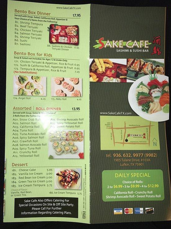 sake cafe lufkin restaurant bewertungen telefonnummer fotos tripadvisor