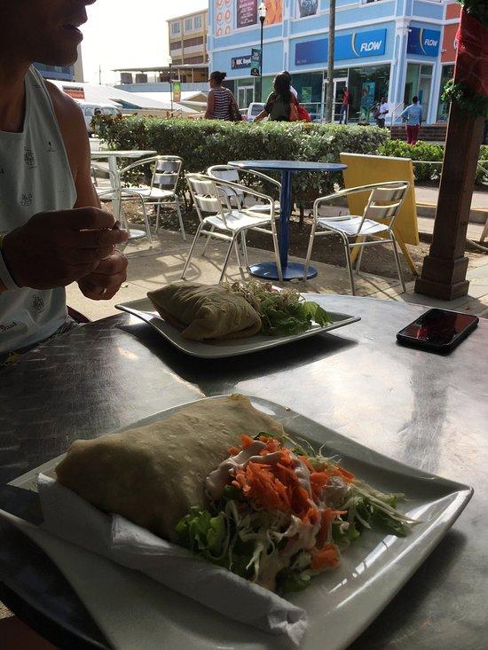 Blue Monkey Cafe St Lucia