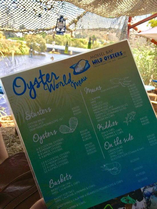 oyster world great brak great brak river restaurant bewertungen telefonnummer fotos tripadvisor