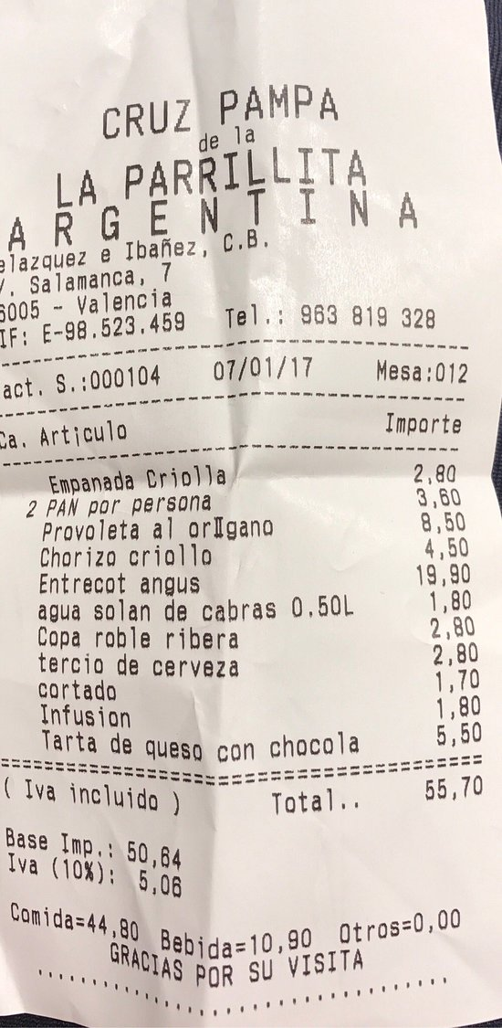 La parrillita argentina valencia calle salamanca 7 - Calle valencia salamanca ...