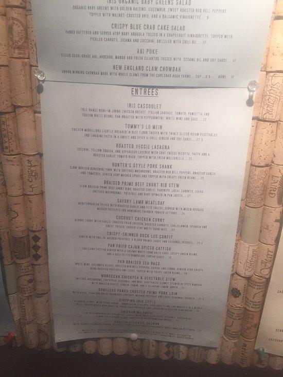 Iris Food And Spirits Restaurant