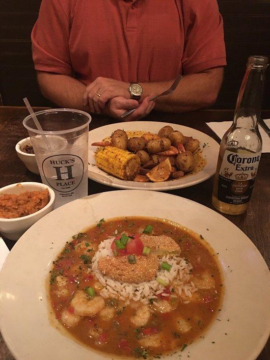 Huck 39 s place columbus restaurant reviews phone number for Fish restaurants in columbus ohio